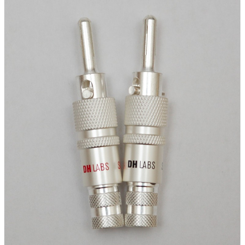 Locking Banana Plug (thin) - 10 gauge wire - Fidelity Components Shop