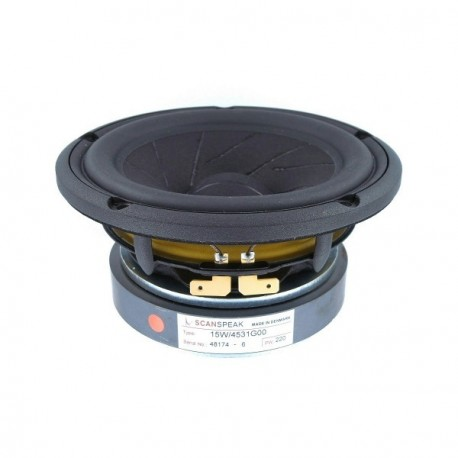 """Midwoofer Scan-Speak Revelator 5.5"""" 15W/4531G00"""