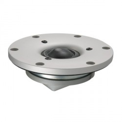 "Scan-Speak Revelator 1"" Dome Tweeter - Silver Face Plate 4 ohm, D2904/710002"
