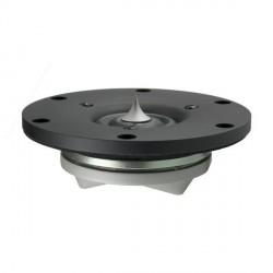 "Scan-Speak Revelator 1"" Ring Dome Tweeter - Black Face Plate 4 ohm, R2904/700005"