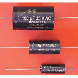 Electrolytic capacitor Mundorf E-cap BG35 50 VDC 82 uF