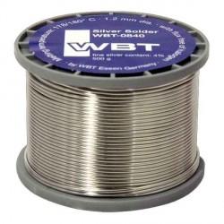 WBT Silver solder 500 g. 1.2 mm dia., WBT-0840 (1pcs)