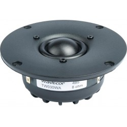 Wavecor silk dome tweeter TW030WA07, 8 Ohm