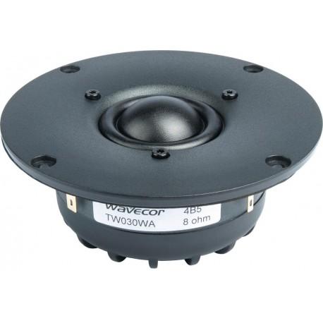 Wavecor silk dome tweeter TW030WA07, 8 Ohm