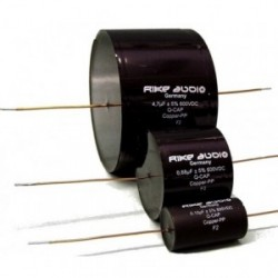 Rike Audio Copper/Paper/Oil Q-CAP capacitor 0,22uF 600V, QCapCPP-0,22
