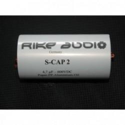 Rike Audio Paper/Polypropylen/Aluminium/Oil S-CAP2 capacitor 0,47uF 600V, SCap2-0,47