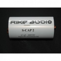 Rike Audio Paper/Polypropylen/Aluminium/Oil S-CAP2 capacitor 22uF 600V, SCap2-22