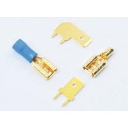 Mundorf Contact pin, angle form, 6.3mm