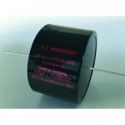 Capacitor Mundorf MCap Supreme EVO 0,1 uF 1000 VDC, SE-0,10T2.1000