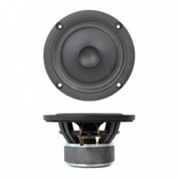 "SB Acoustics 4"" midwoofer with rubber NRX Norex cone, SB12NRX25-4"