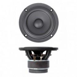 "SB Acoustics 4"" midrange with rubber NRX Norex cone, SB12MNRX25-4"