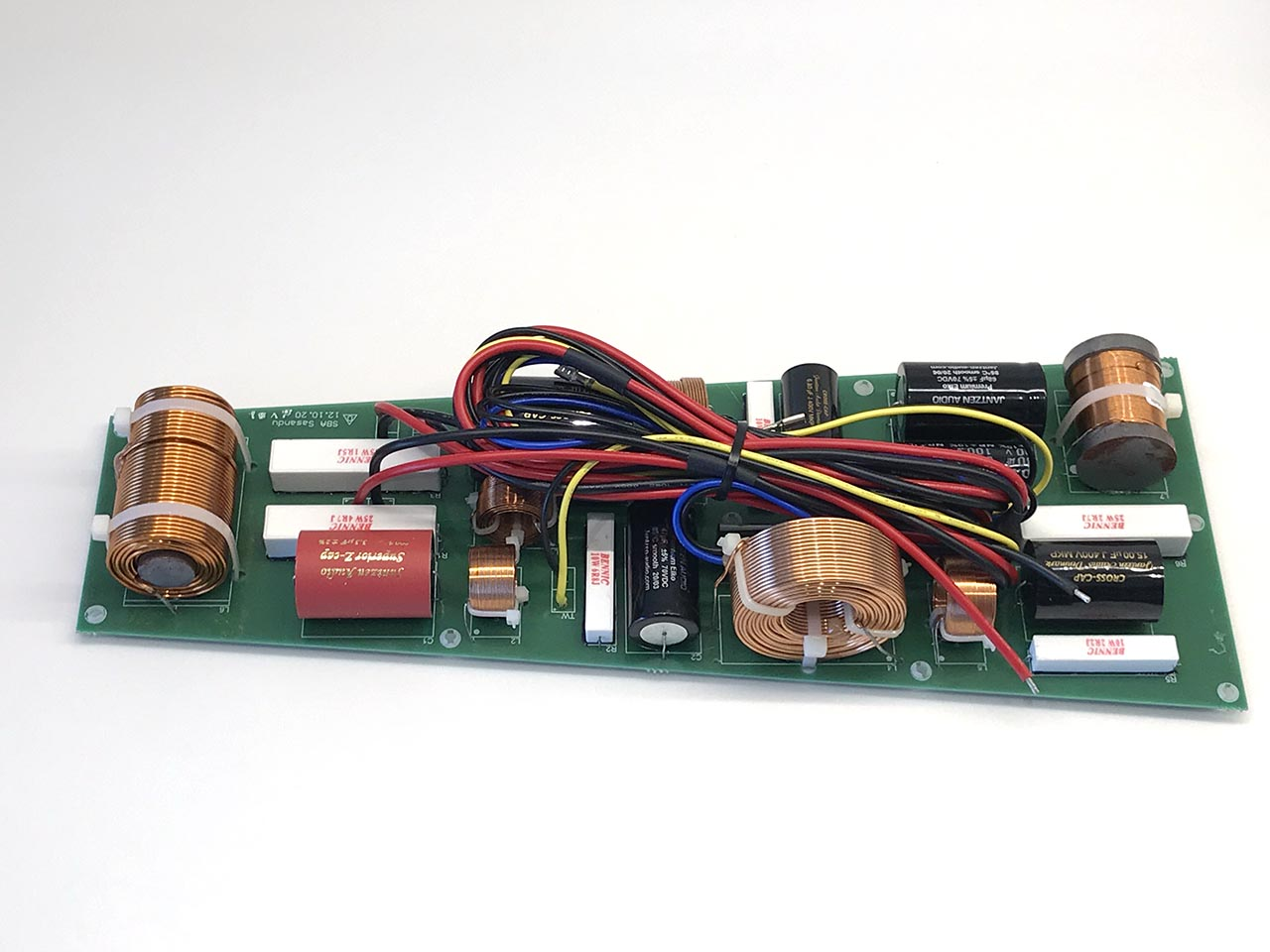 SB Acoustics Sasandu DIY Speaker kit factory crossover - Jantzen components