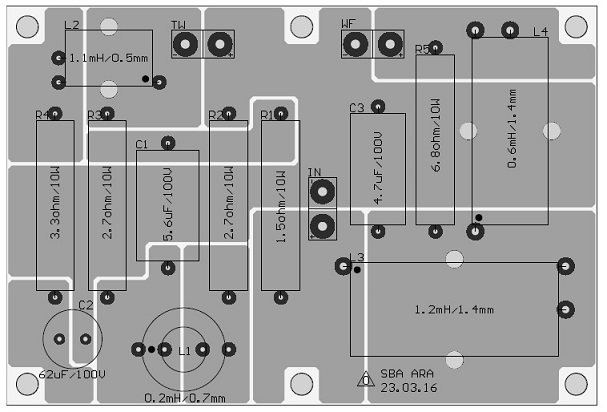 sb acoustics ara diy speaker kit