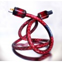 DH-Labs RedWave AC Power Cable 3,0 meter (Terminated with WattGate connectors)